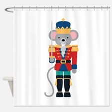 Nutcracker Ballet Story Mouse King Shower Curtain