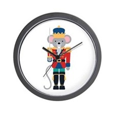 Nutcracker Ballet Story Mouse King Wall Clock