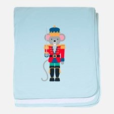 Nutcracker Ballet Story Mouse King baby blanket