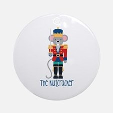 The Nutcracker Ornament (Round)