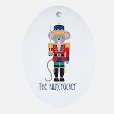 The Nutcracker Ornament (Oval)