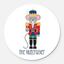 The Nutcracker Round Car Magnet