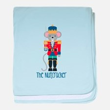 The Nutcracker baby blanket