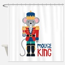 mouse King Shower Curtain