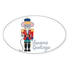 Seasons Greetings Decal