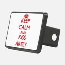 Keep Calm and Kiss Arely Hitch Cover