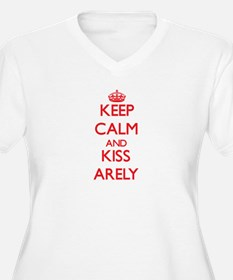 Keep Calm and Kiss Arely Plus Size T-Shirt