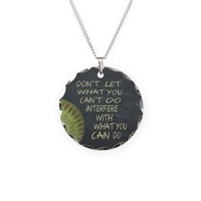 What You Can Do Fastpitch So Necklace Circle Charm