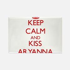 Keep Calm and Kiss Aryanna Magnets