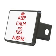 Keep Calm and Kiss Aubree Hitch Cover