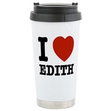 I love Edith Travel Mug