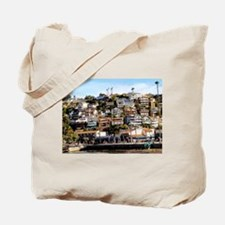 Houses On The Hill Tote Bag