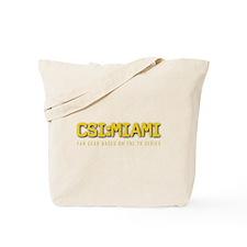 CSI:MIAMI Tote Bag