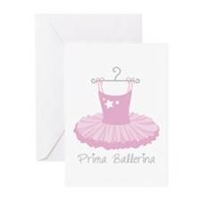 Prima Ballerina Greeting Cards