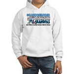 Grandpa's Horsey Rides Hooded Sweatshirt