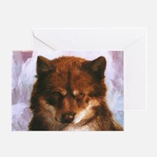 Oosisoak Artic Dog Greeting Cards