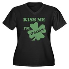 KissMeImItalian_tBG Plus Size T-Shirt