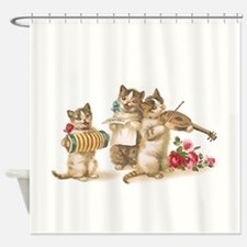 Caterwauling Shower Curtain