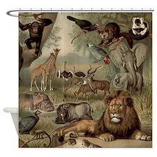 Vintage Jungle Shower Curtain
