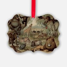 Vintage Jungle Ornament