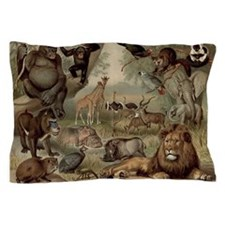 Vintage Jungle Pillow Case