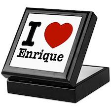 I love Enrique Keepsake Box