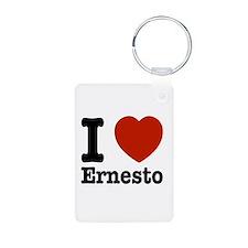 I love Ernesto Keychains