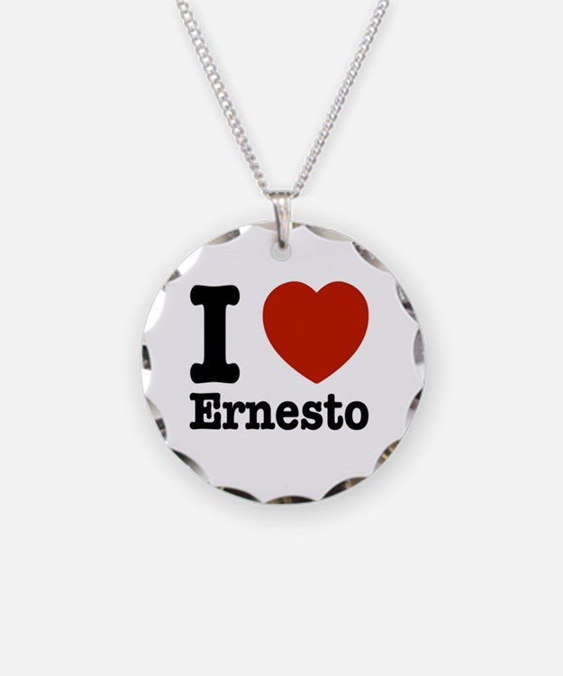 I love Ernesto Necklace