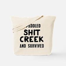 Shit Creek Survivor Tote Bag