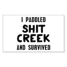 Shit Creek Survivor Bumper Stickers