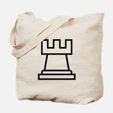Rook Chess Piece Tote Bag