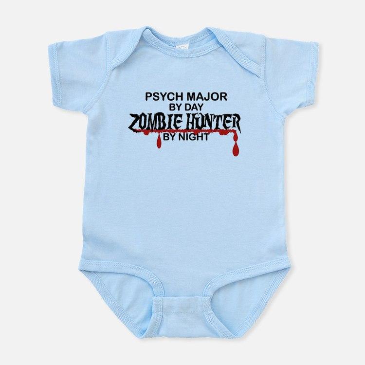 Zombie Hunter - Psych Major Infant Bodysuit