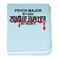 Zombie Hunter - Psych Major baby blanket