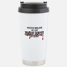 Zombie Hunter - Psych M Stainless Steel Travel Mug