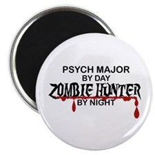 """Zombie Hunter - Psych Major 2.25"""" Magnet (10 pack)"""