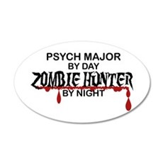 Zombie Hunter - Psych Major Wall Decal
