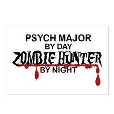 Zombie Hunter - Psych Maj Postcards (Package of 8)