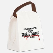 Zombie Hunter - Psych Major Canvas Lunch Bag