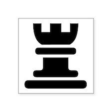 Rook Chess Piece Sticker