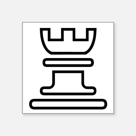 Rook Chess Piece Sticker