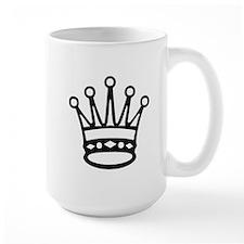 Queen Chess Piece Mugs
