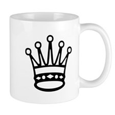 Queen Chess Piece Mugs