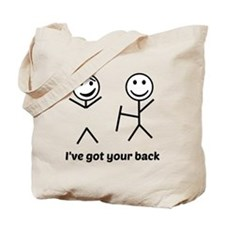 Ive got your back (for light items) Tote Bag