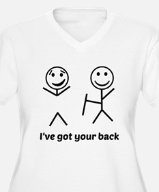 Ive got your back (for light items) Plus Size T-Sh