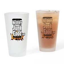 HellthyJunkFood Logo Drinking Glass