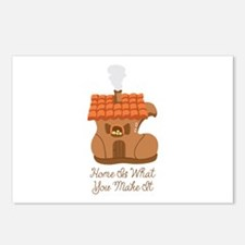 Home Is What You Make It Postcards (Package of 8)