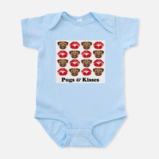 Pugs and Kisses Infant Bodysuit