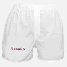 Yazmin Pink Giraffe Boxer Shorts