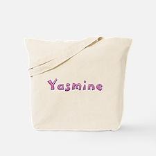 Yasmine Pink Giraffe Tote Bag