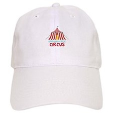 Running Away To Join The Circus Baseball Baseball Cap